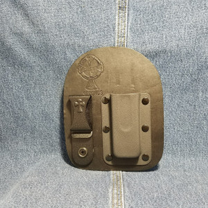 MC0060 CrossBreed IWB Mag Carrier  Single Stack 9/40 / Right Hand Carry / Black Cow