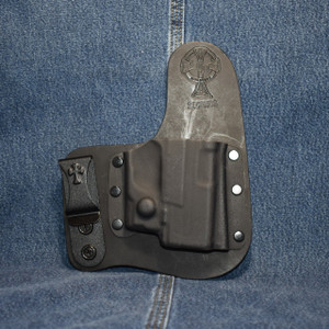 13952 CrossBreed Freedom Carry SPRINGFIELD XDE with Viridian R5 ECR Reactor / Right Hand / Black Cow