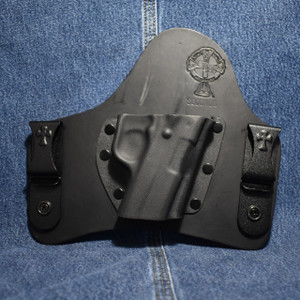 14277 CrossBreed SuperTuck KAHR CW/CT 9/40 /Right Hand / Black Cow