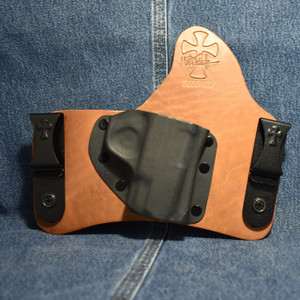 14357 CrossBreed SuperTuck SMITH & WESSON SHIELD 9/40 with RMR Optic Sight / Right Hand / Founders Series / Combat Cut