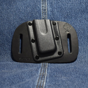 MC0070 CrossBreed OWB Mag Carrier SINGLE STACK 45 / Left Side Carry / Black Cow / Single