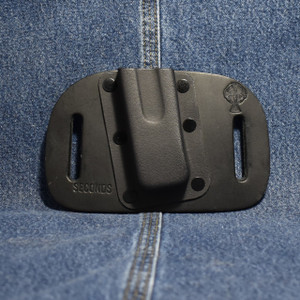 MC0074 CrossBreed OWB Mag Carrier DOUBLE STACK 9/40 / Left Hand Carry / Black Cow / Single