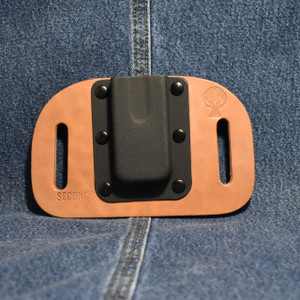 MC0081 CrossBreed OWB Mag Carrier SINGLE STACK 45/10mm / Straight Drop / Horse