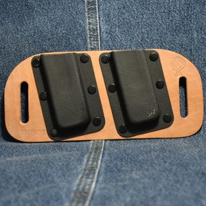 MC0099 CrossBreed OWB Mag Carrier SINGLE STACK 9/40 / Left Side Carry / Horse