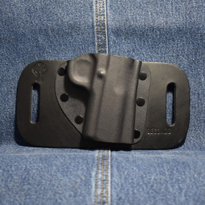 14485 CrossBreed SnapSlide 1911 NO RAIL with RMR OPTIC SIGHT / Right Hand / Black Cow