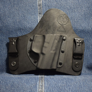 14500 CrossBreed SuperTuck WALTHER P99 COMPACT / Right Hand / Black Cow