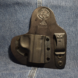 14730 CrossBreed Appendix Carry SIG P938 / Right Hand / Black Cow