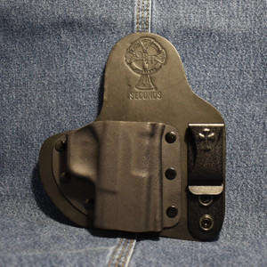 14731 CrossBreed Appendix Carry SPRINGFIELD XDS / Right Hand / Black Cow