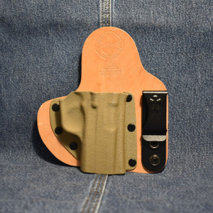 14779 CrossBreed Appendix Carry KAHR P/TP 45 / Right Hand / Horse
