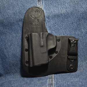 14820 CrossBreed Freedom Carry SPRINGFIELD XDS 3.3 / Left Hand / Black Cow