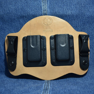 MC0044 CrossBreed IWB Mag Carrier / SINGLE STACK 9/40 / Dual Carry / Horse
