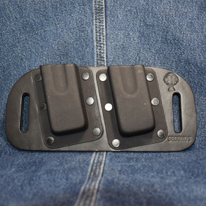 MC0128 CrossBreed OWB Mag Carrier DOUBLE STACK 45/10mm / Left Side Carry