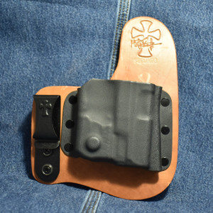 14861 CrossBreed Freedom Carry SMITH & WESSON SHIELD 9/40 with CRIMSON TRACE LL-801 / Right Hand / Founders Series