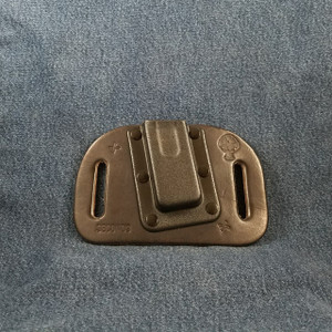 12020 CrossBreed OWB Mag Carrier Cow Single/Single Stack Left 9mm