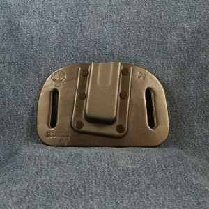 12031 CrossBreed OWB Mag Carrier Cow Single/Single Stack Right 9mm