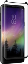 ZAGG InvisibleShield, GLASS CURVE Elite, Case Friendly, Curved Impact & Scratch Protection, Samsung Galaxy S9+