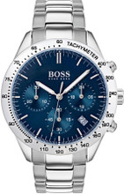 Hugo Boss Watch, Talent collection,  Stainless Steel Case, Blue Dial, Tachymeter Bezel, Bracelet