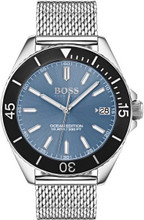 Hugo Boss  Watch, Ocean Edition with Luminova technology and mesh bracelet