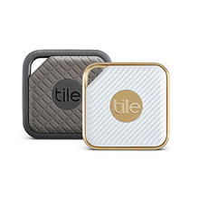 Tile Combo Pack, Bluetooth Tracker Pro Series -1 x Sport & 1 x Style