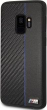 BMW, Case for Samsung S9,  Bi-Material Carbon  - Navy