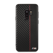 BMW, Case for Samsung S9+,  Bi-Material Carbon  - Red