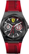 Scuderia Ferrari,  Aspire Mens Watch,  Brushed Black IP Case, Black enamel  Dial