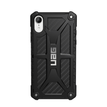 UAG, Monarch Series, Case for iPhone Xr, Black (Carbon Fibre)