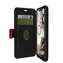 UAG,  Folio Series , Case for iPhone Xr, Red/Black (Magma)
