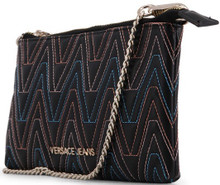 Versace Jeans, Clutch Bag, with removable shoulder strap, contrasted  stitching