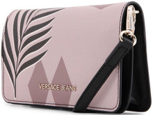 Versace Jeans, Clutch Bag, with removable shoulder strap, Forest Pink