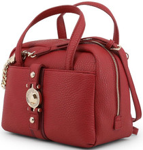 Versace Jeans, HandBag, Gold Logo, Red