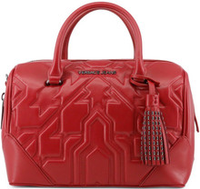 Copy of Versace Jeans, HandBag, embossed ornament 2, Red