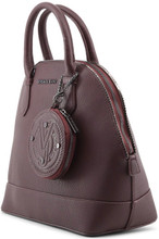 Versace Jeans, HandBag, embossed Logo, Brown
