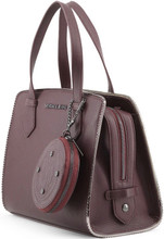 Versace Jeans, HandBag, embossed Logo, Brown 2