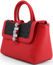Versace Jeans, HandBag, Small Logo, Red