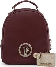 Versace Jeans, front logo Backpack, Red