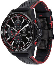 SCUDERIA FERRARI, THE PILOTA AUTOMATIC WATCH, 45 MM, SWISS MADE LIMITED EDITION,  399  was made