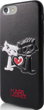 Karl Lagerfeld, Choupette in Love,  Case for iPhone 8/7 , Black