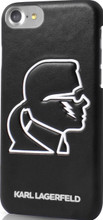 Karl Lagerfeld, Glow in the Dark,  Case for iPhone 8/7
