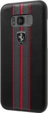 "Ferrari Case for  Samsung Galaxy S8 Plus , Collection ""Urban"",  Off Track Logo ,Black"