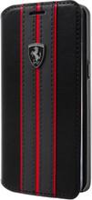 "Ferrari Book Case for  Samsung Galaxy S8, Collection ""Urban"",  Off Track Logo, Black"