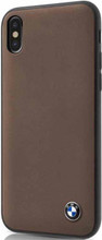 BMW, Case for iPhone Xs/X, Genuine Leather  - Moca