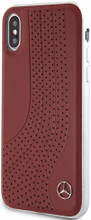 "Mercedes , Case for iPhone X , collection ""NEW BOW I "" ,  Genuine leather  - Red"