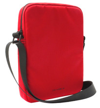 "Ferrari, Tablet Bag 10"", collection ""URBAN"" - Red with Black Piping"
