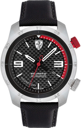 SCUDERIA FERRARI THE PRIMATO AUTOMATIC WATCH - Limited Edition ,Only 399  was made , Watch # 97
