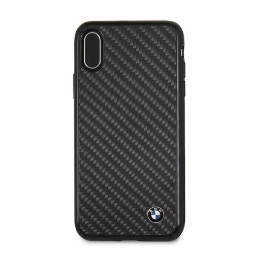bmw case for iphone x real carbon fiber black. Black Bedroom Furniture Sets. Home Design Ideas