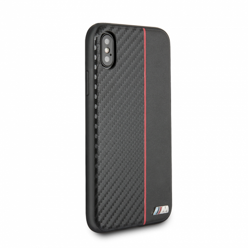 BMW, Case for iPhone X,  Bi-Material Carbon  - Red