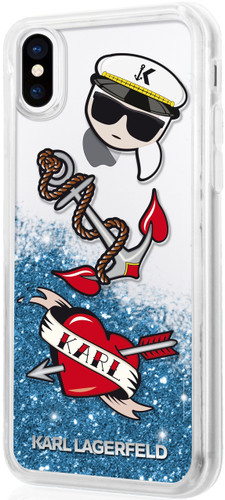 Captain Karl by Karl Lagerfeld - for iPhone X