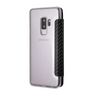BMW, Book-Case for Samsung S9 + ,  Bi-Material Carbon  - Navy