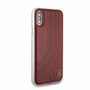 """Mercedes , Case for iPhone X , collection """"NEW BOW I """" ,  Genuine leather  - Red"""